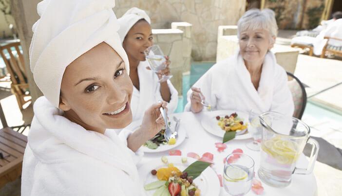 痩身エステ後のおすすめな食事と食べ方