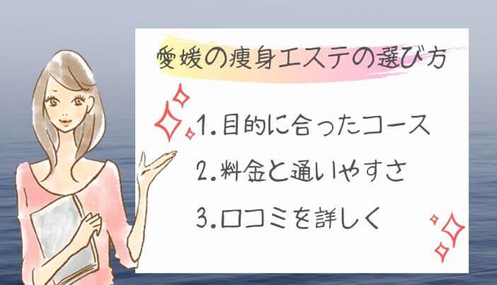 愛媛の痩身エステの選び方
