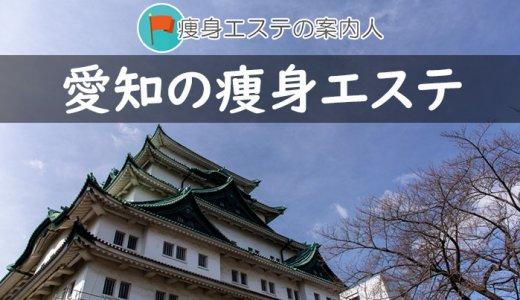愛知県でオススメの痩身エステ一覧|口コミ評判・選び方など