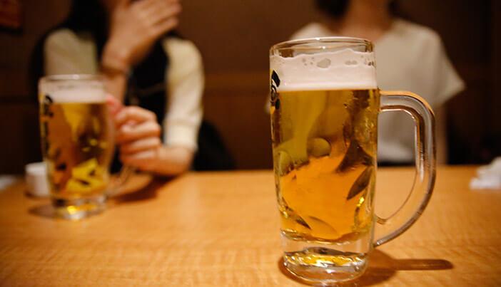 痩身エステに通っている間の飲み会の過ごし方